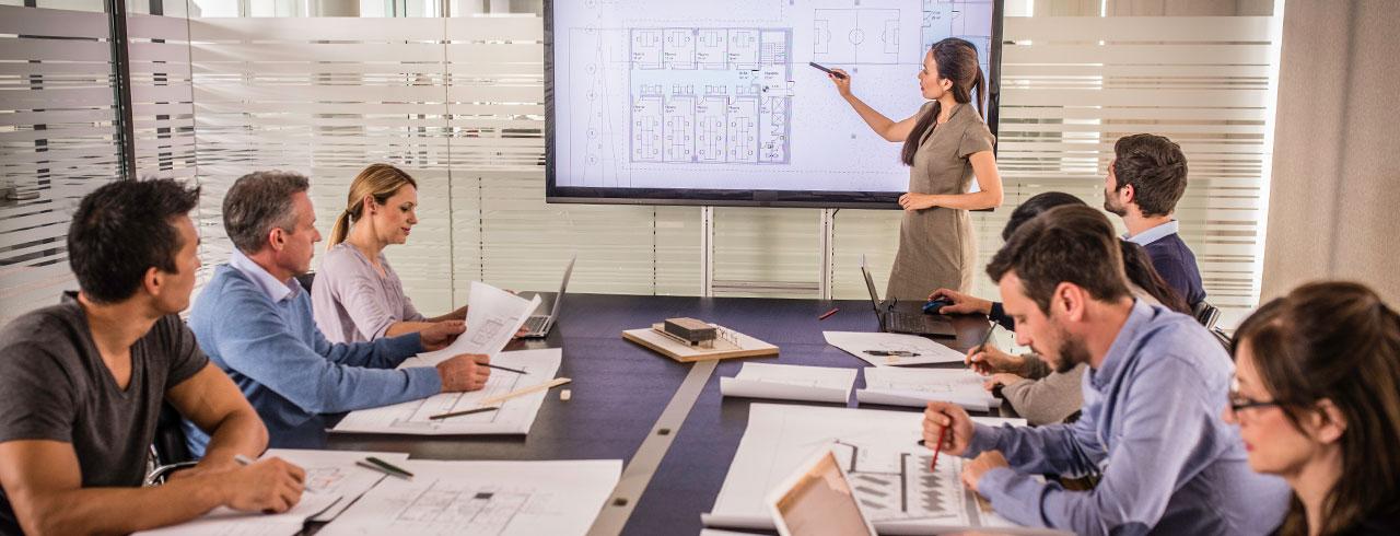 Medientechnik - Schulungs- und Konferenzraumausstattung